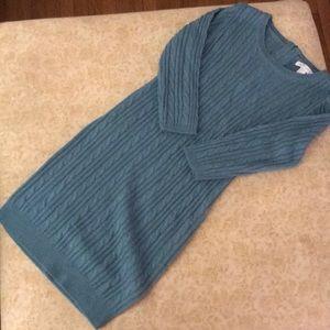 💙Teal Sweater Dress. Comfy, cute, classic💙